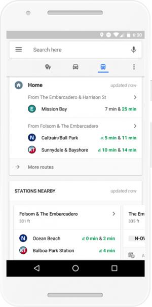 Информация о местах и транспорте в Google Maps для Android теперь доступна в одном месте (4)