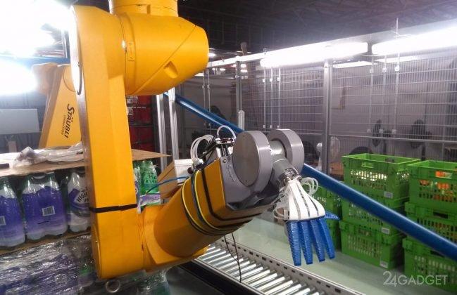 Мягкотелый робот RBO Softhand 2 (2 фото + видео)