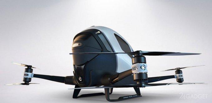 Первые летающие автомобили могут появится в Дубае (5 фото + видео)
