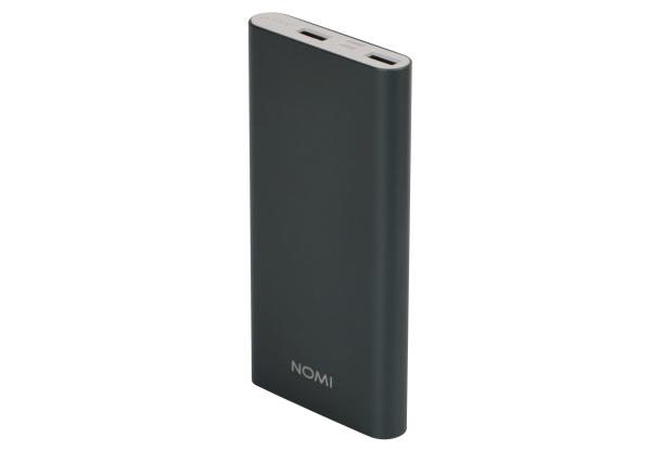 Универсальные мобильные батареи Nomi E050 5000 mAh и Nomi E100 10000 mAh уже в АЛЛО – Nomi E100 10 000 mAh серый