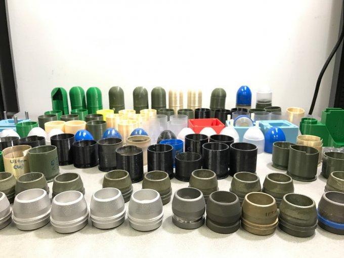 На 3D-принтере изготовили гранатомет и снаряды к нему (6 фото)