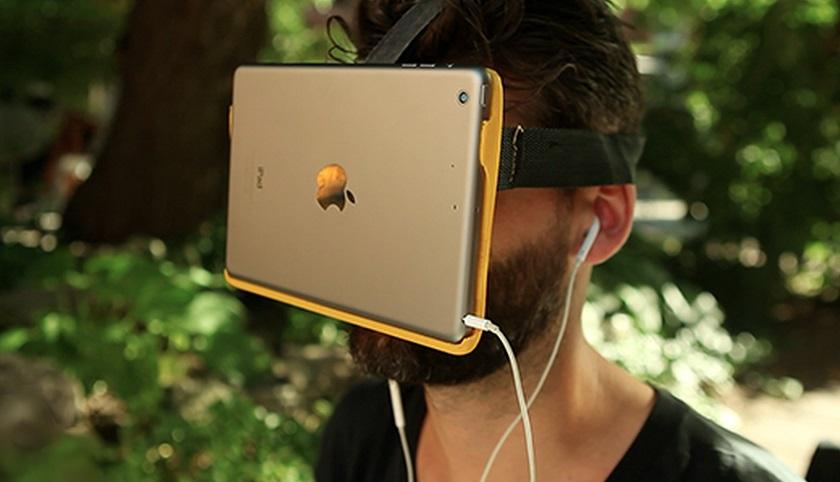 Apple получила патент на VR-гарнитуру с использованием смартфона