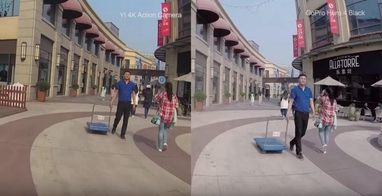 Битва экшн-камер Xiaomi Yi 4K Action Camera против GoPro Hero 4 – Сравнение качества видео 1