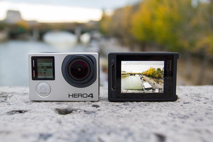 Битва экшн-камер Xiaomi Yi 4K Action Camera против GoPro Hero 4 – Автономность GoPro Hero 4