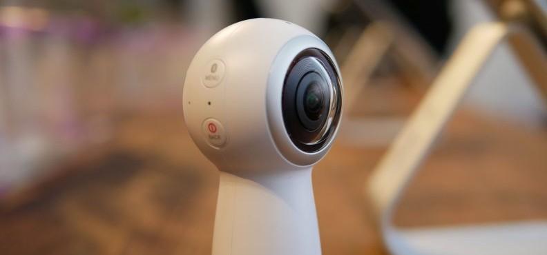 Gear 360 v2 — новая 360-градусная 4K-камера от Samsung