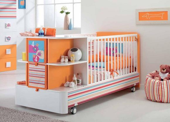 Как выбрать детскую кроватку – советы молодым родителям – Кроватка-трансформер в интерьере