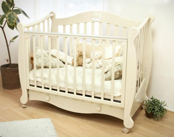 Как выбрать детскую кроватку – советы молодым родителям – Детская кроватка на колесиках