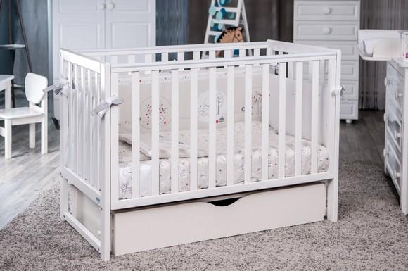 Как выбрать детскую кроватку – советы молодым родителям – Кроватка с маятниковым механизмом