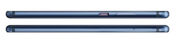 Huawei P10-эргономика модели Dazzling Blue