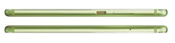 Huawei P10-эргономика модели Greenery