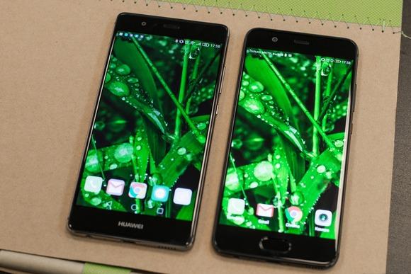 Huawei P9 и P10-экраны сравнение