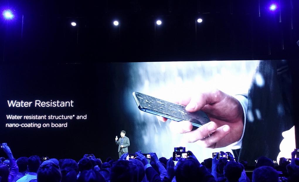 Huawei P10 Plus-защита от влаги