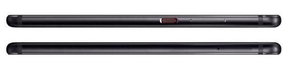Huawei P10-эргономика модели Graphite Black