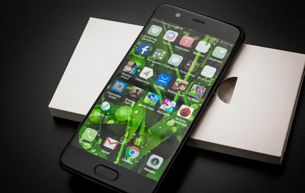 Huawei P10-дисплей