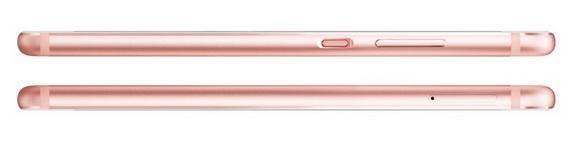 Huawei P10-эргономика модели Rose Gold