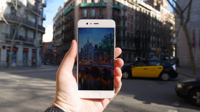 Huawei P10-съемка