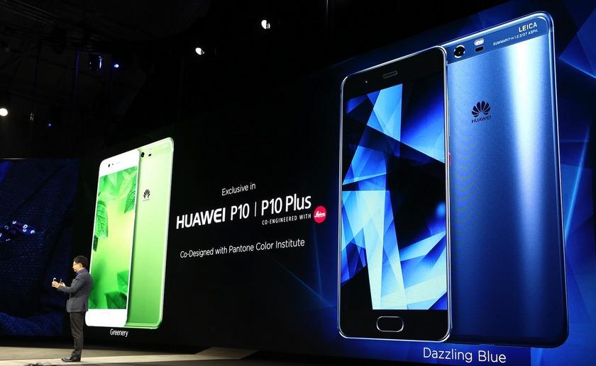 Непревзойденный стиль Huawei P10 и P10 Plus