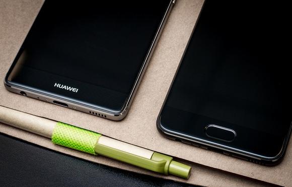 Huawei P9 и P10-экран сравнение