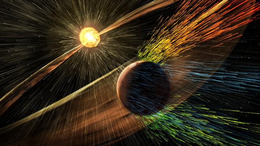 NASA: атмосферу Марса восстановит магнитный щит
