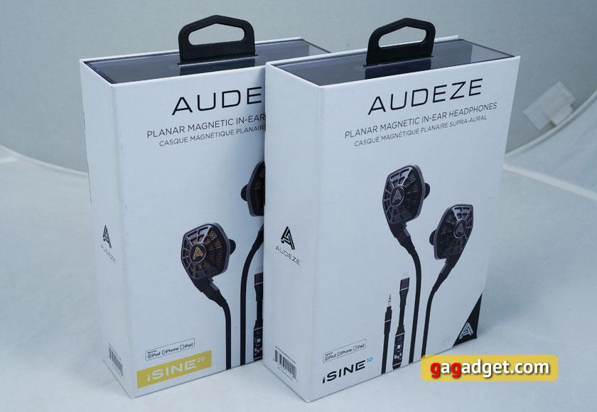 Обзор Audeze iSine 10 и iSine 20: первые в мире внутриканальные планарно-магнитные наушники-3