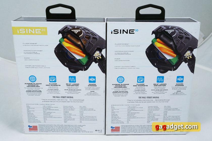 Обзор Audeze iSine 10 и iSine 20: первые в мире внутриканальные планарно-магнитные наушники-4