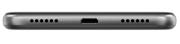 Huawei P8 lite 2017 Black-Разъем для зарядки