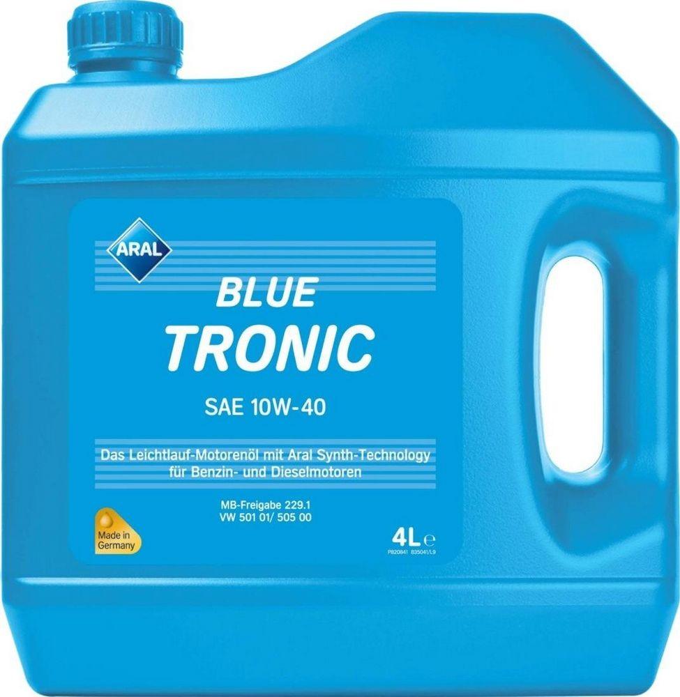 Рейтинг моторных масел экспертное мнение - Aral BlueTronic 10W-40