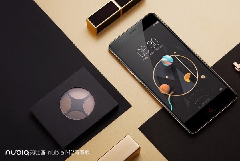 ZTE анонсировала линейку смартфонов Nubia M2, M2 Lite и N2
