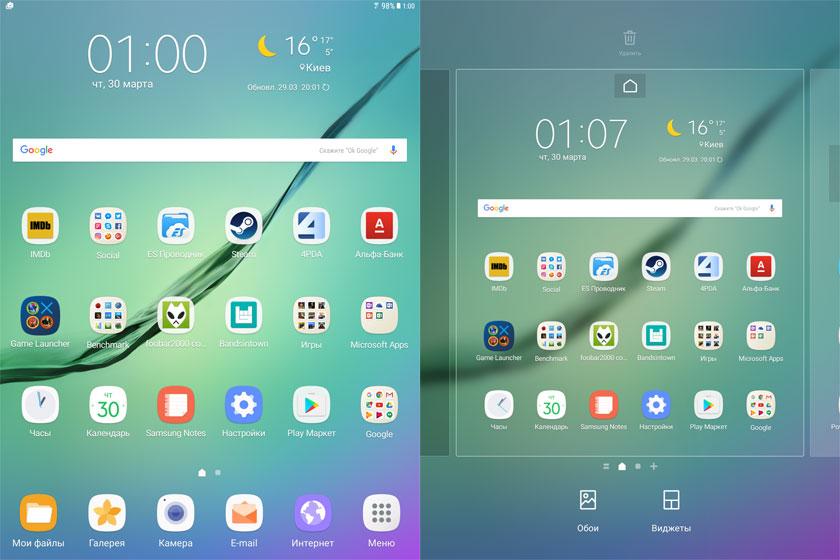 Обзор флагманского планшета Samsung Galaxy Tab S3-29