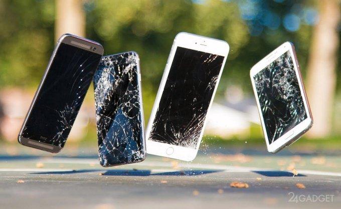 Создан самовосстанавливающийся материал для защиты экранов смартфонов (3 фото + видео)