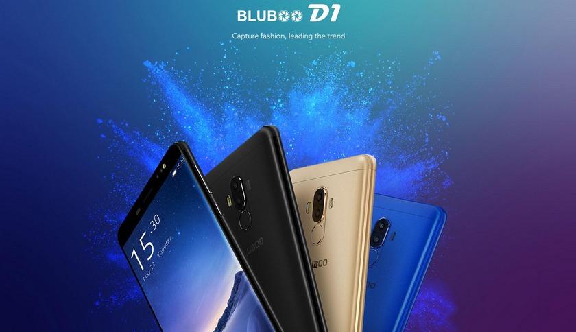 Возможности двойной камеры Bluboo D1 (видео)