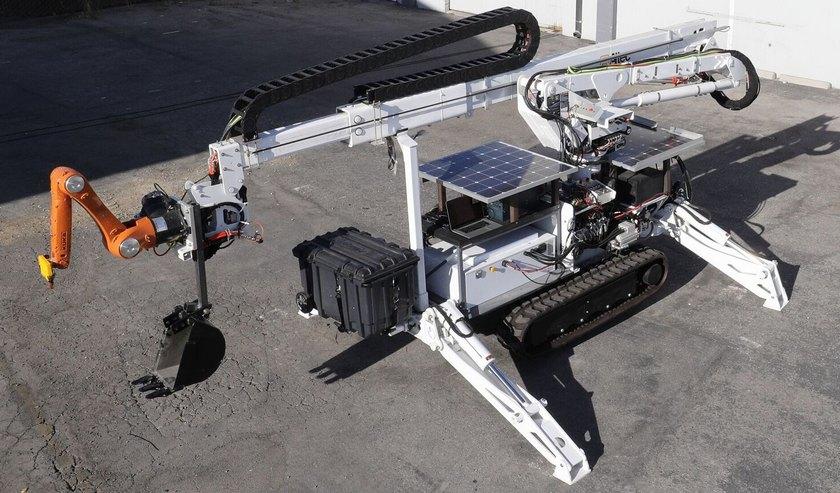 Гигантский 3D-принтер MIT сможет строить дома на Марсе