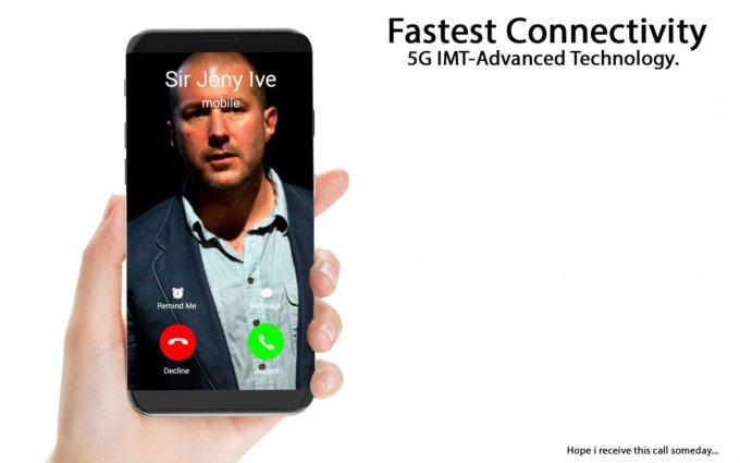 iPhone X - безрамочный флагман с беспроводной зарядкой (9 фото)