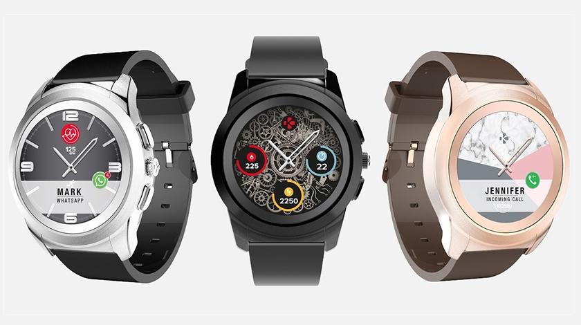 MyKronoz ZeTime: смарт-часы с механическими стрелками поверх экрана