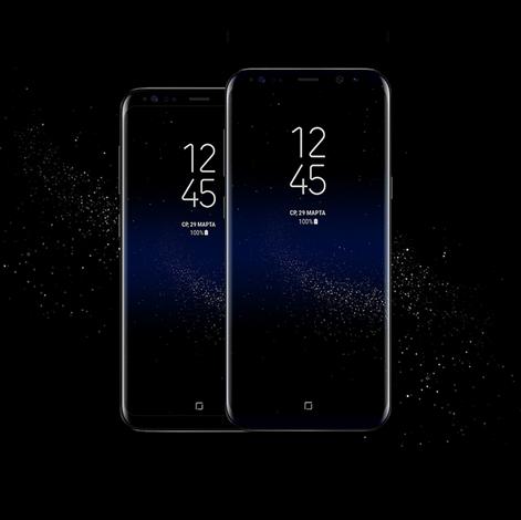 Samsung Galaxy S8 и модель Plus-пресс-фото