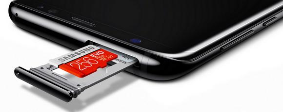 Samsung Galaxy S8 и модель Plus-гибридный слот для симки и карты памяти
