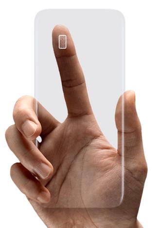 Samsung Galaxy S8-безопасность разблокировка касанием