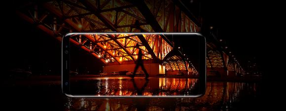 Samsung Galaxy S8-камера съемка в темноте