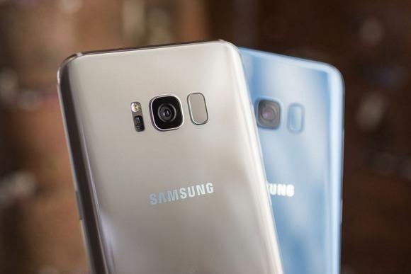 Новинки Samsung Galaxy S8-расцветки
