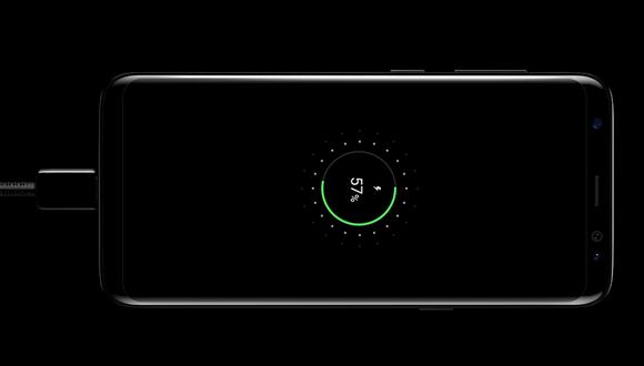 Samsung Galaxy S8 и модель Plus-быстрая зарядка