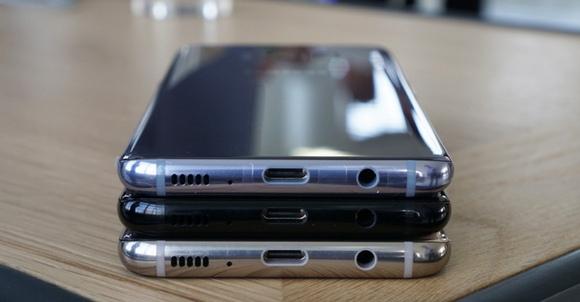Новинки Samsung Galaxy S8-разъемы расцветки