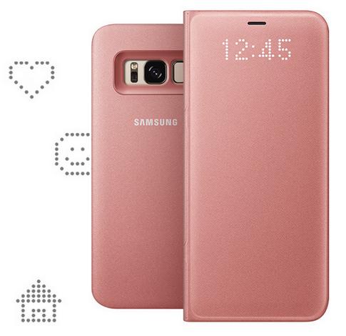 Samsung Galaxy S8 и модель Plus-аксессуары чехол LED View Cover