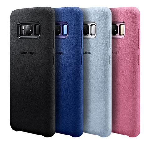 Samsung Galaxy S8 и модель Plus-аксессуары чехол Alcantara cover