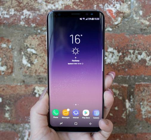 Новинки Samsung Galaxy S8-дисплей фото
