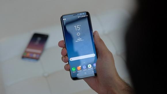 Новинки Samsung Galaxy S8-экран