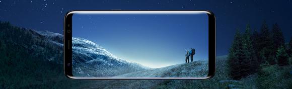Samsung Galaxy S8-уникальный дизайн