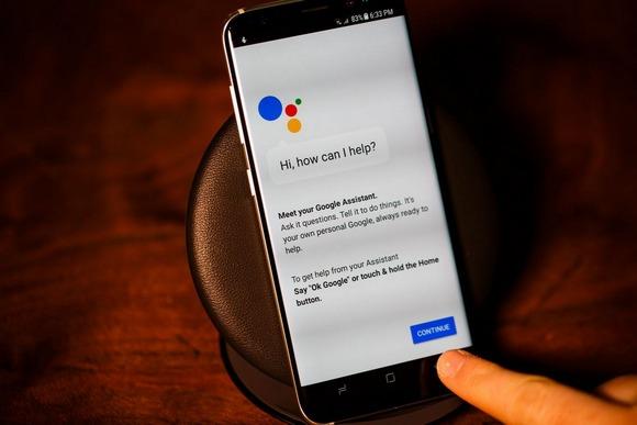Новинки Samsung Galaxy S8-Google Assistant
