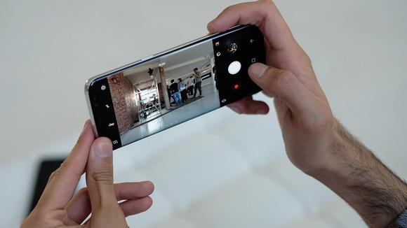 Новинки Samsung Galaxy S8-съемка