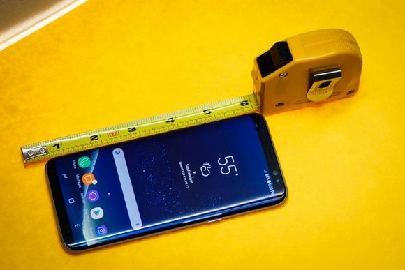 Новинки Samsung Galaxy S8-замеры