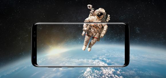 Samsung Galaxy S8-экран без границ фото
